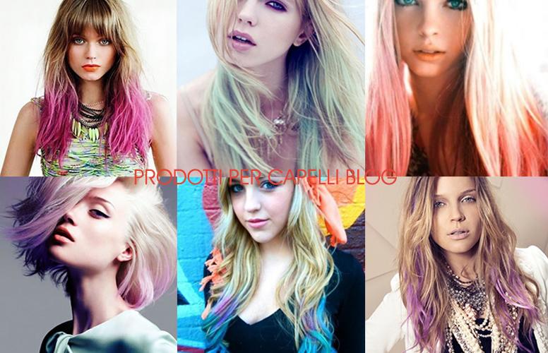 Colori di capelli originali