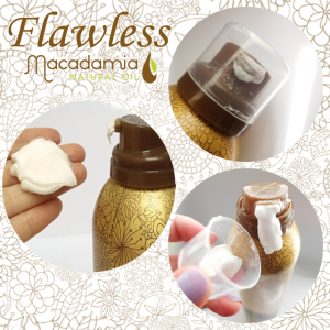 come usare Flawless macadamia