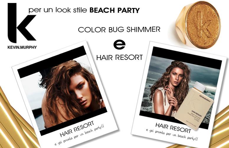 hair resort e colorbug shimmer