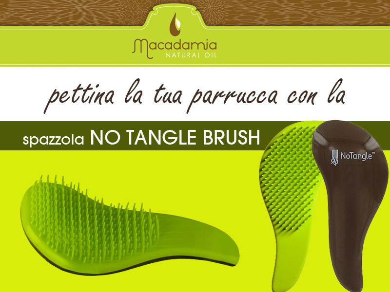 spazzola no tangle brush
