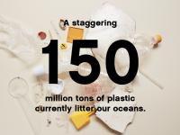 Sono 150 le milioni di tonnellate di plastica che attualmente occupano i nostri oceani.